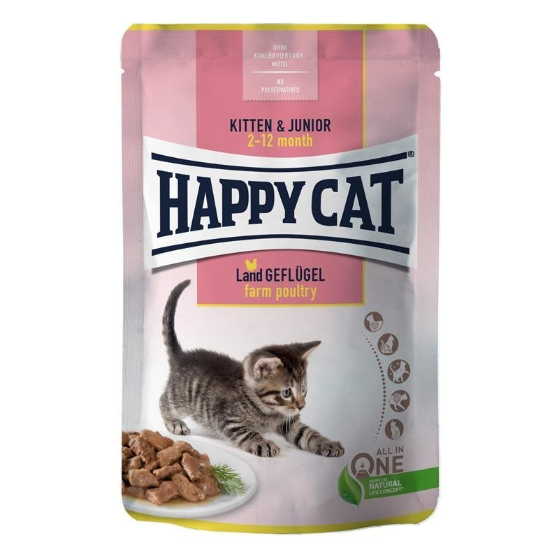 Happy Cat Nassfutter Pouches Young, Bild 2