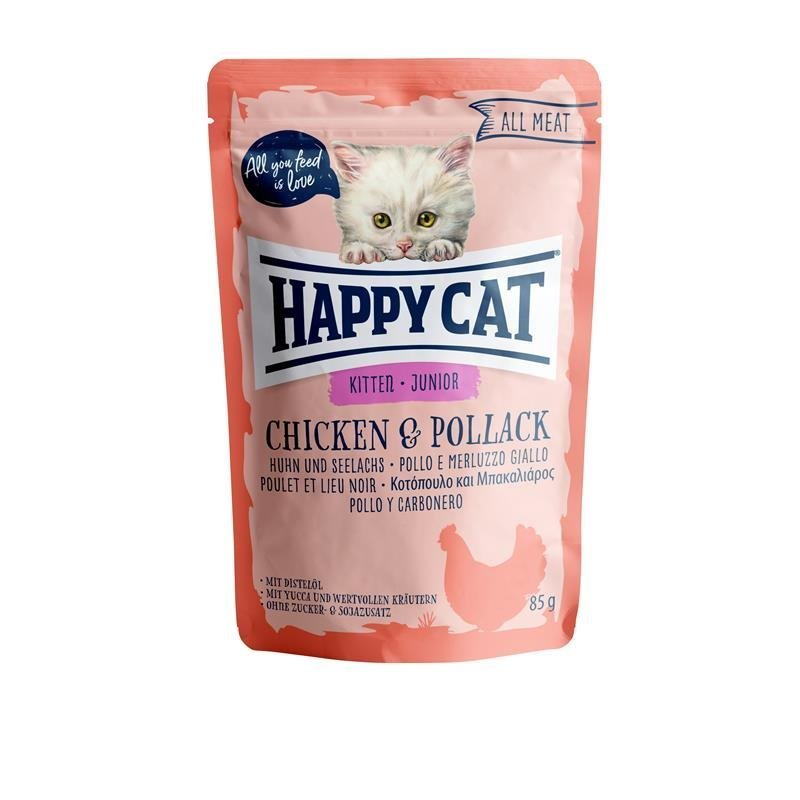 Happy Cat Pouches All Meat Junior, Bild 2