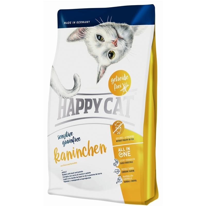 Happy Cat Sensitive Grainfree Kaninchen Katzenfutter