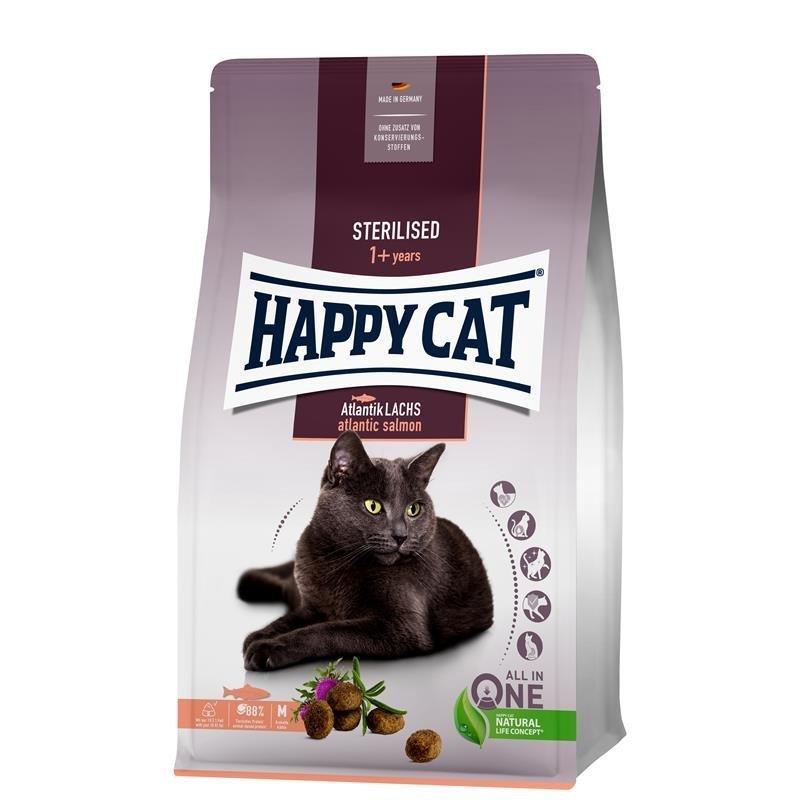 Happy Cat Sterilised Adult Atlantik Lachs