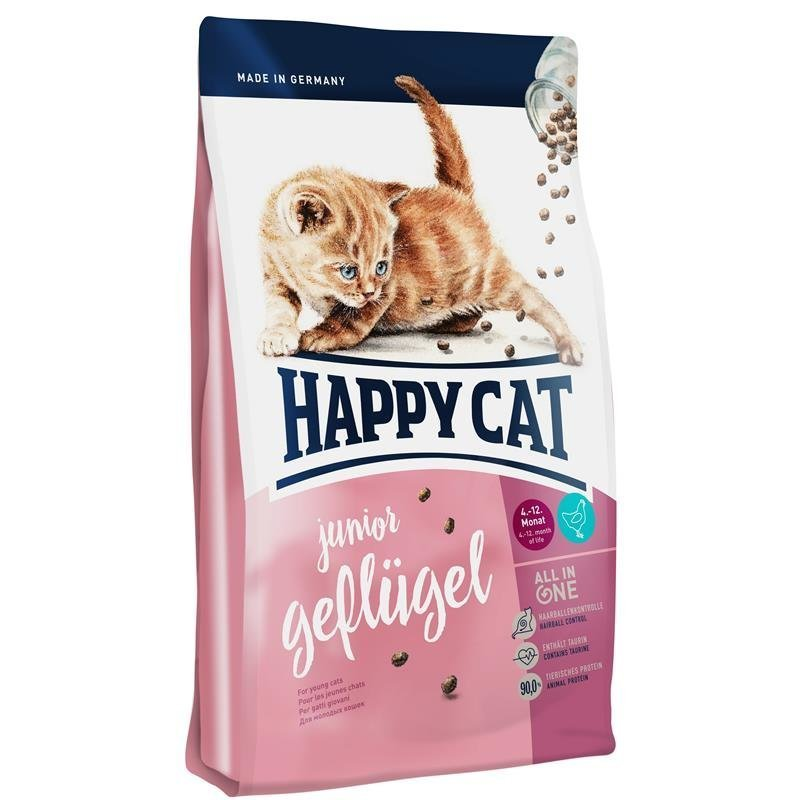 Happy Cat Supreme Junior Geflügel