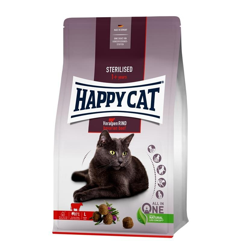Happy Cat Supreme Sterilised Voralpen-Rind