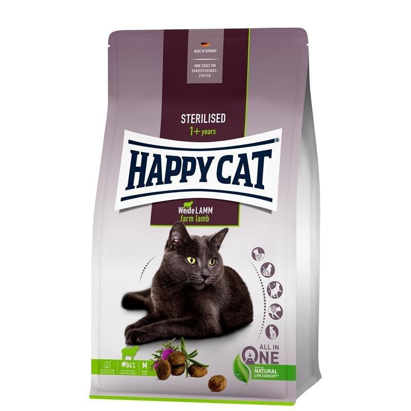 Happy Cat Supreme Sterilised Weide-Lamm