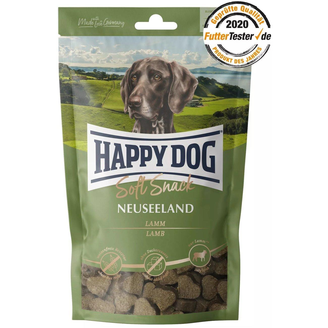 Happy Dog Soft Snack Supreme Neuseeland Lamm Reis, 100g