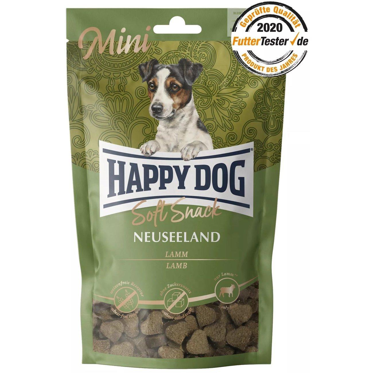 Happy Dog Soft Snack Supreme Neuseeland Lamm Reis Mini, 100g
