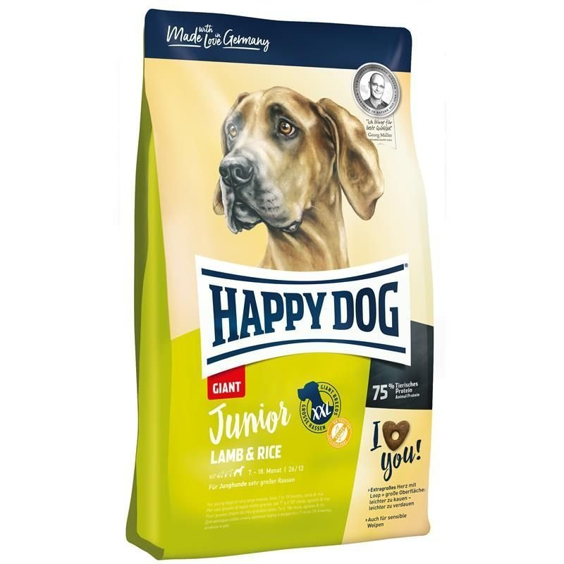 Happy Dog Supreme Junior Giant Lamb & Rice, Bild 2