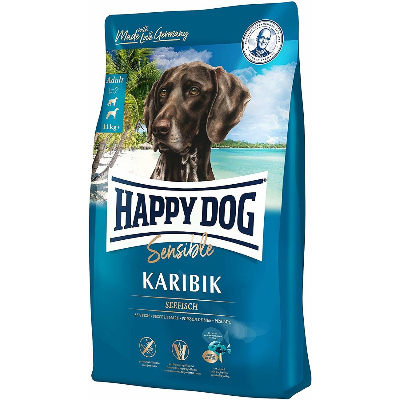 Happy Dog Supreme Sensible Karibik, 4 kg