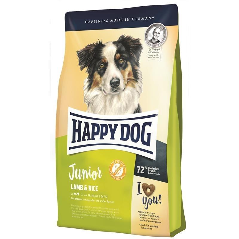 Happy Dog Supreme Young Junior Lamm & Reis, 10kg