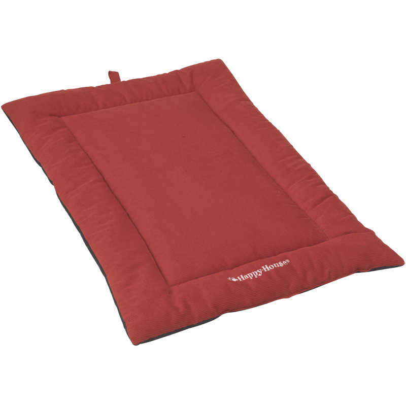 Happy House Hundedecke aus Cord, XL: 105 x 70, rot