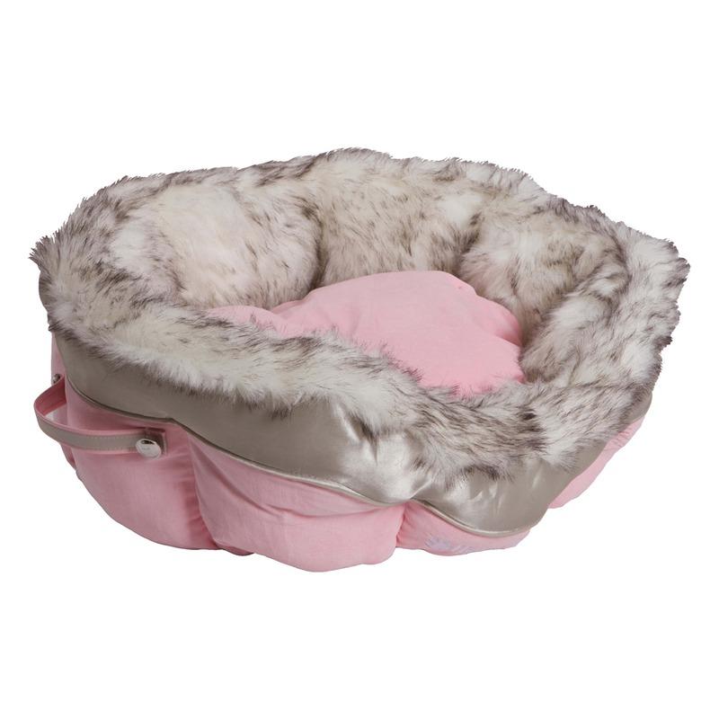 Happy House Katzenbettchen Katzenkörbchen Cat Lifestyle, 46 x 46 x 21, rosa