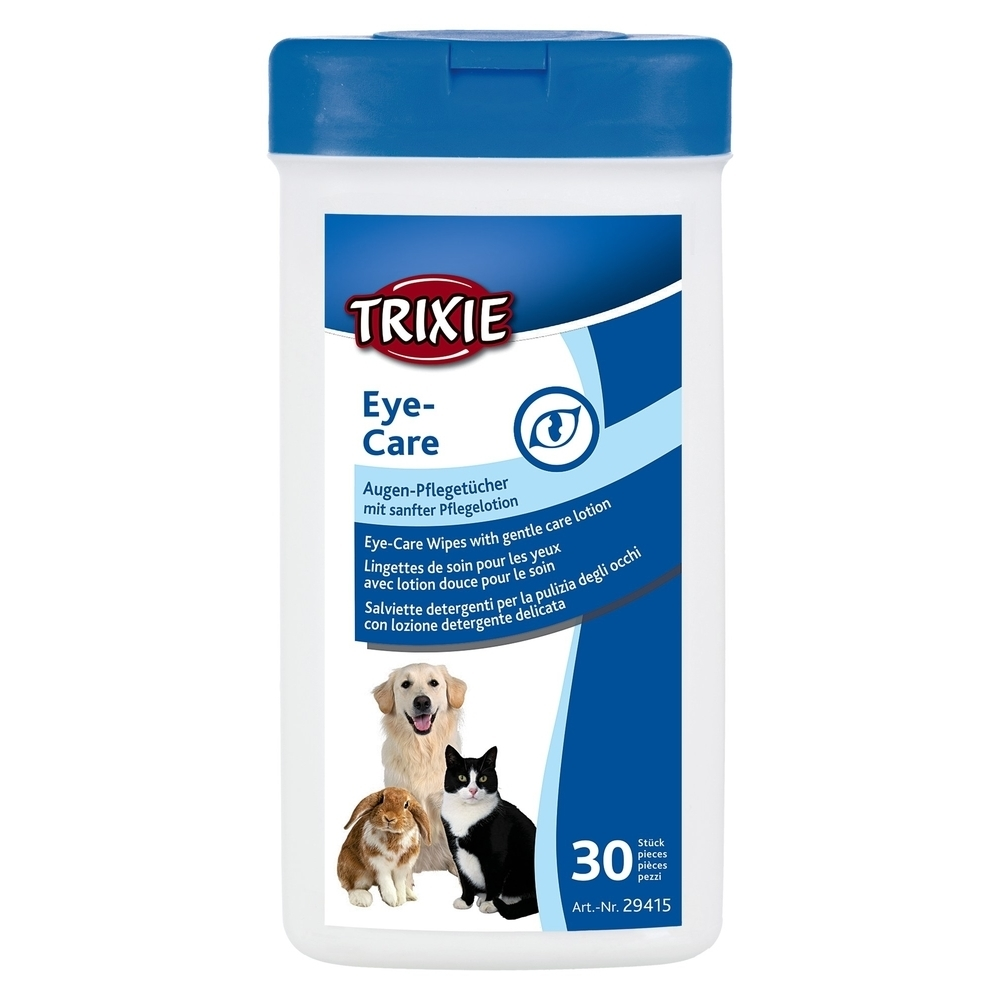 Trixie Haustier Pflegetücher für die Augen 29415