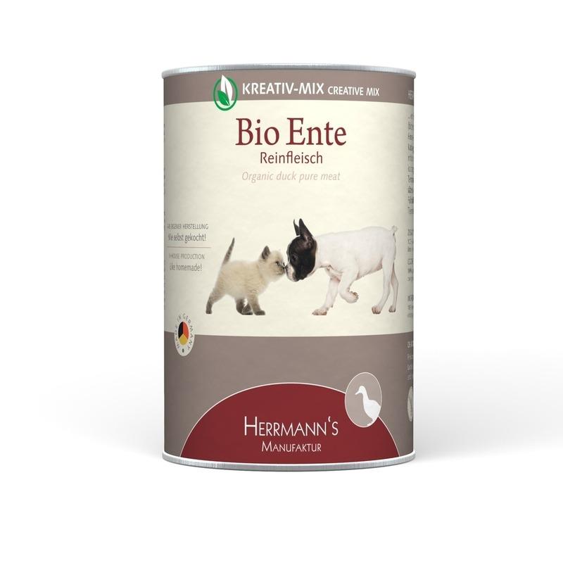Herrmanns Bio Hundefutter Reinfleisch Dose Preview Image