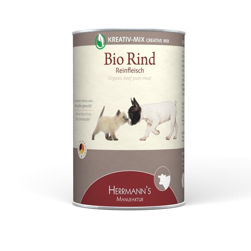 Herrmanns Bio Hundefutter Reinfleisch Dose, Bild 6
