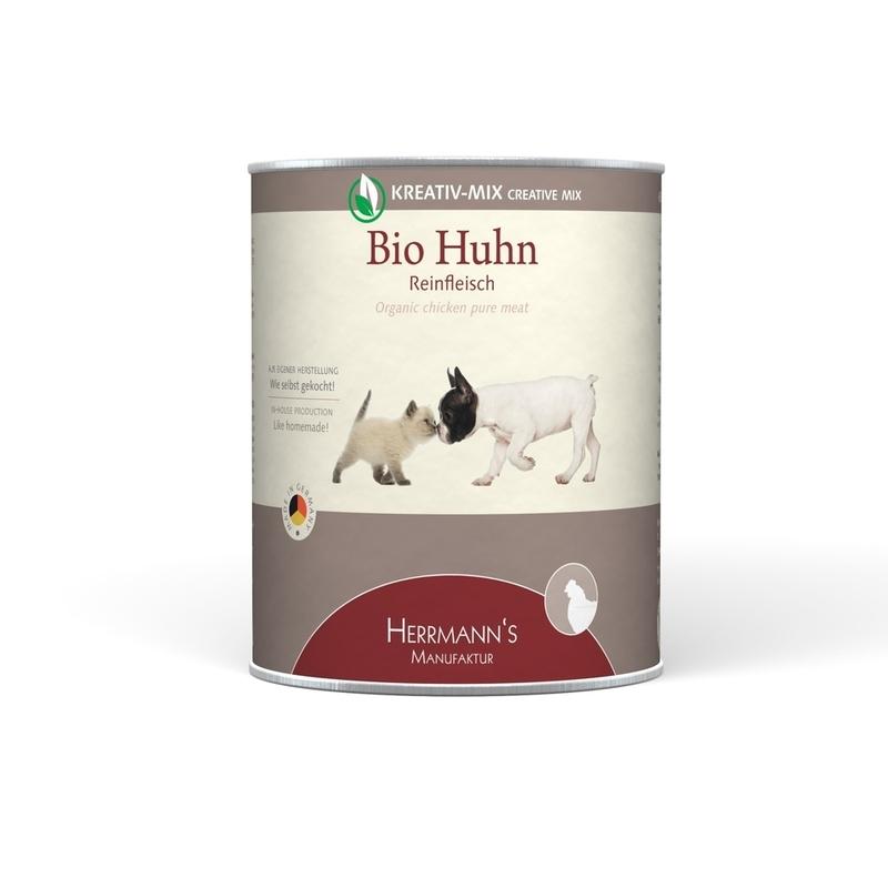 Herrmanns Bio Hundefutter Reinfleisch Dose, Bild 9