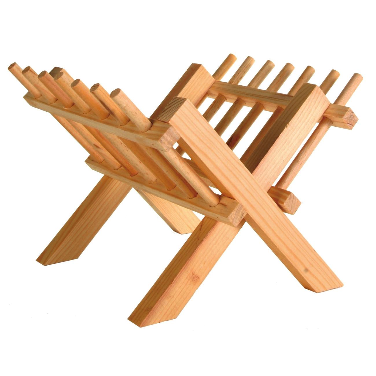 TRIXIE Kleintier Heuraufe zum Aufstellen aus Holz 6114
