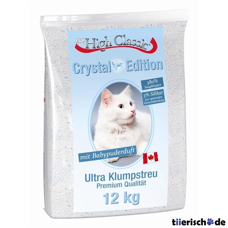 High Classic Cat Katzenstreu Crystal Edition, 12kg