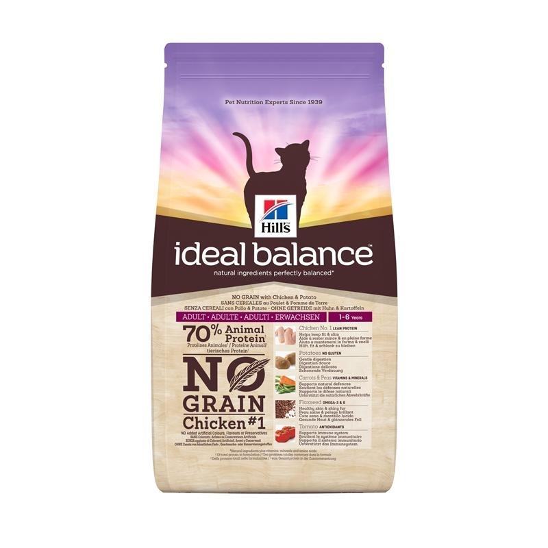 Hills Feline Ideal Balance No Grain Huhn & Kartoffel