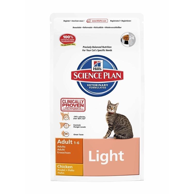 Hills Feline Light Katzenfutter, 5 kg Huhn