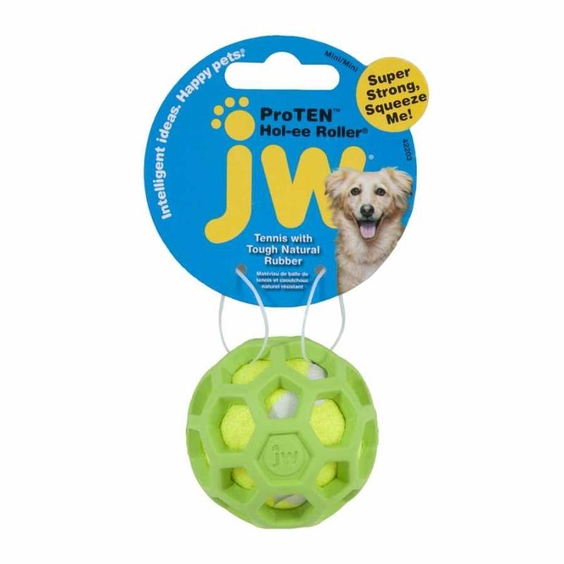 JW Pet Hol-ee ProTEN Roller Tennisball für Hunde, Bild 3