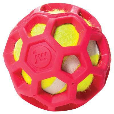 JW Pet Hol-ee ProTEN Roller Tennisball für Hunde, Bild 4