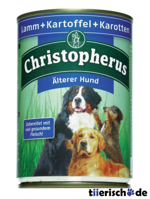 Christopherus Hundefutter Älterer Hund Dosen