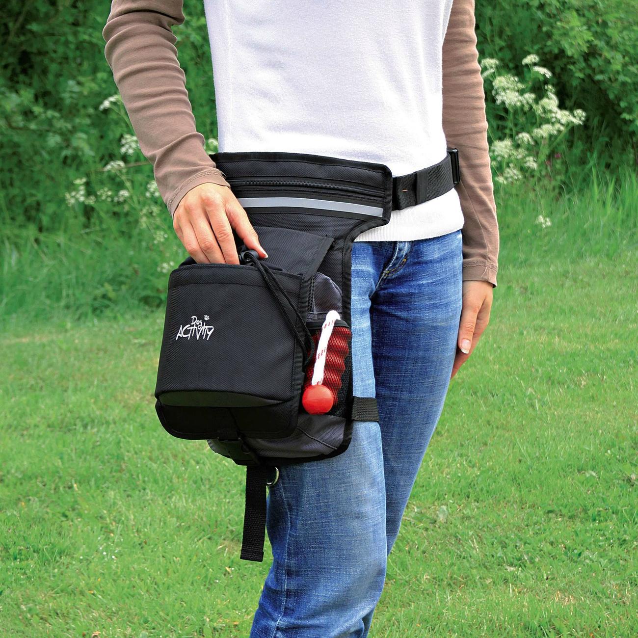 Trixie Hüfttasche mit Beingurt für Hundehalter 28863