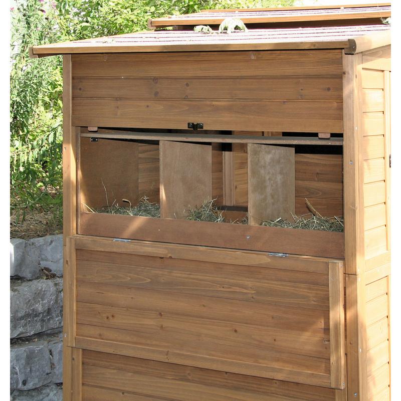 Kerbl Hühnerhaus Hühnerstall XXL aus Holz, Bild 4