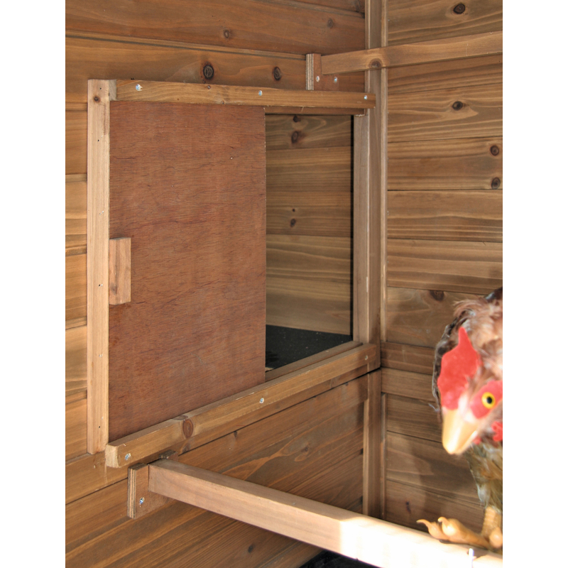 Kerbl Hühnerhaus Hühnerstall XXL aus Holz, Bild 5