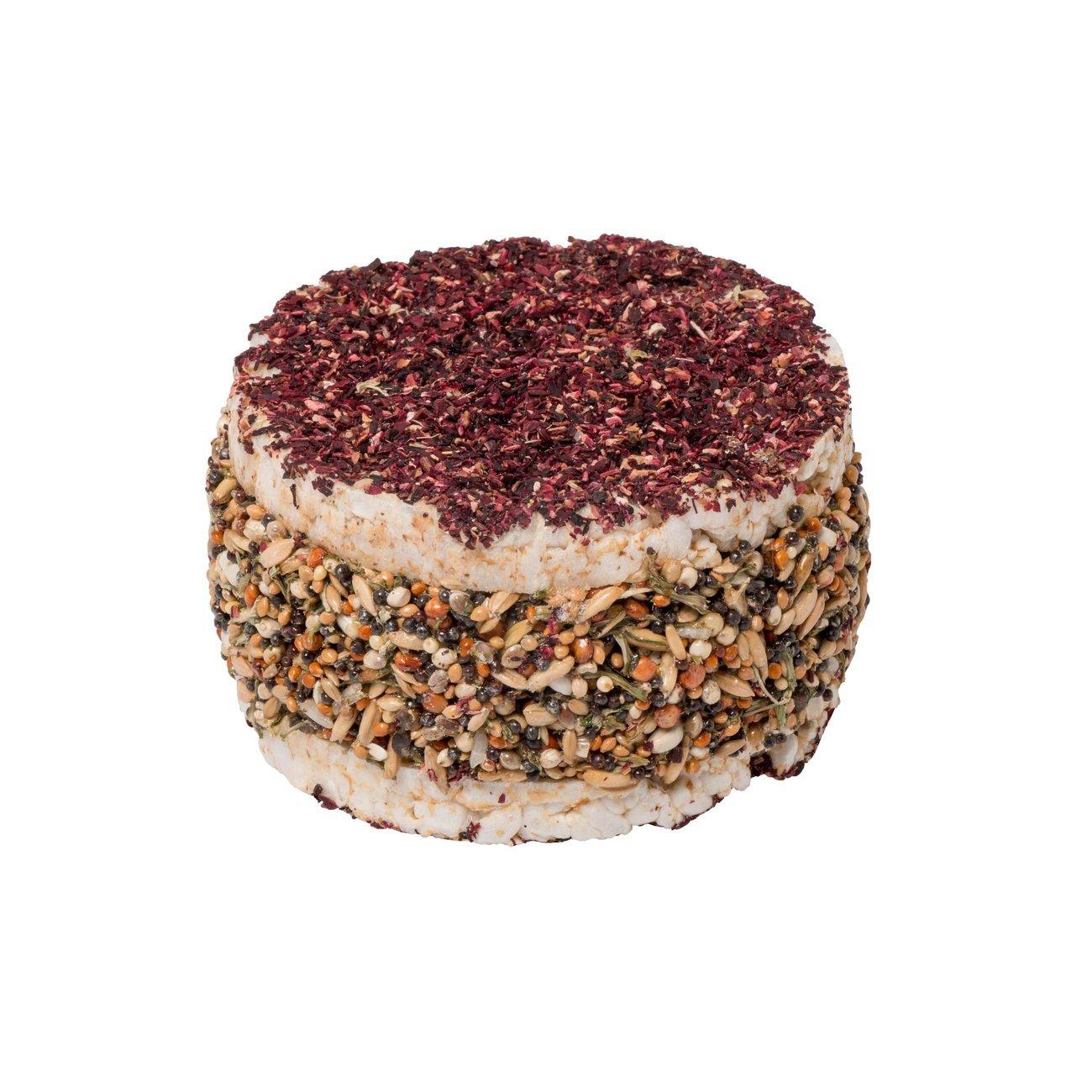 HUGRO® Burger mit Reis und Gemüse, mit Saaten - Ø 10 x 5 cm