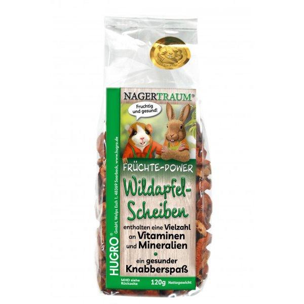 Hugro Früchte Power Wildapfelscheiben, 120 g