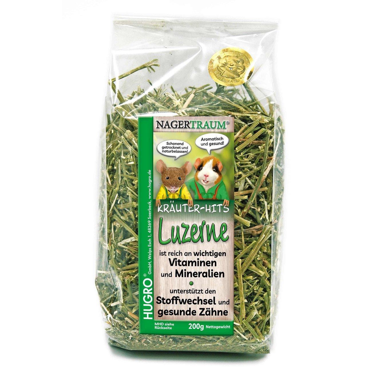 HUGRO® Nagertraum Luzerne, 200 g