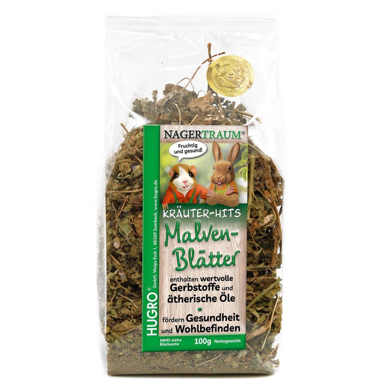 HUGRO® Nagertraum Malvenblätter, 100 g