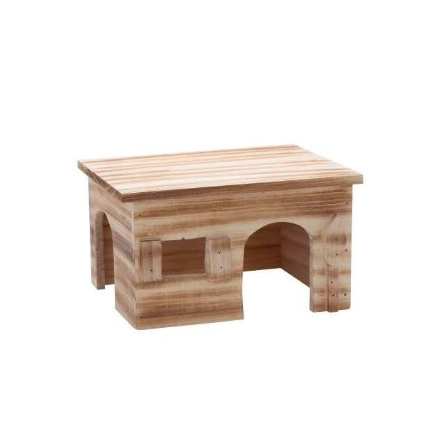 HUGRO® Teutohütte für Nager, 26x19,5x15cm