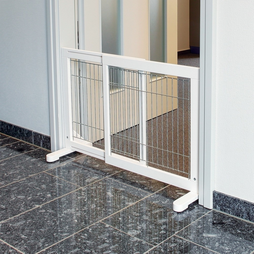 Trixie Hunde-Absperrgitter Holz weiß 39455