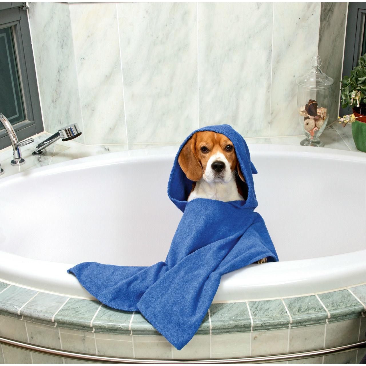 Karlie Hunde Badeponcho