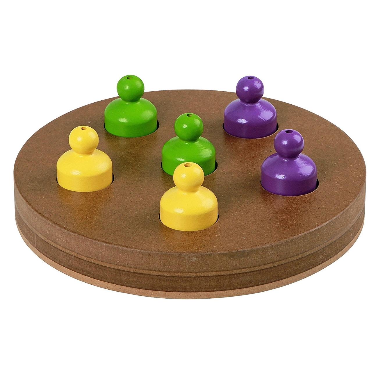 Kerbl Hunde Denkspielzeug Lernspielzeug DUO, Ø24,7cm x 3,5cm