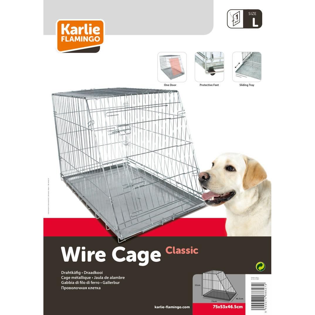 Karlie Hunde Drahtkäfig mit abgeschrägter Seite, Bild 3