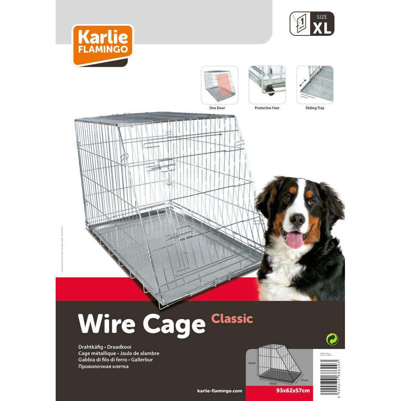 Karlie Hunde Drahtkäfig mit abgeschrägter Seite, Bild 4