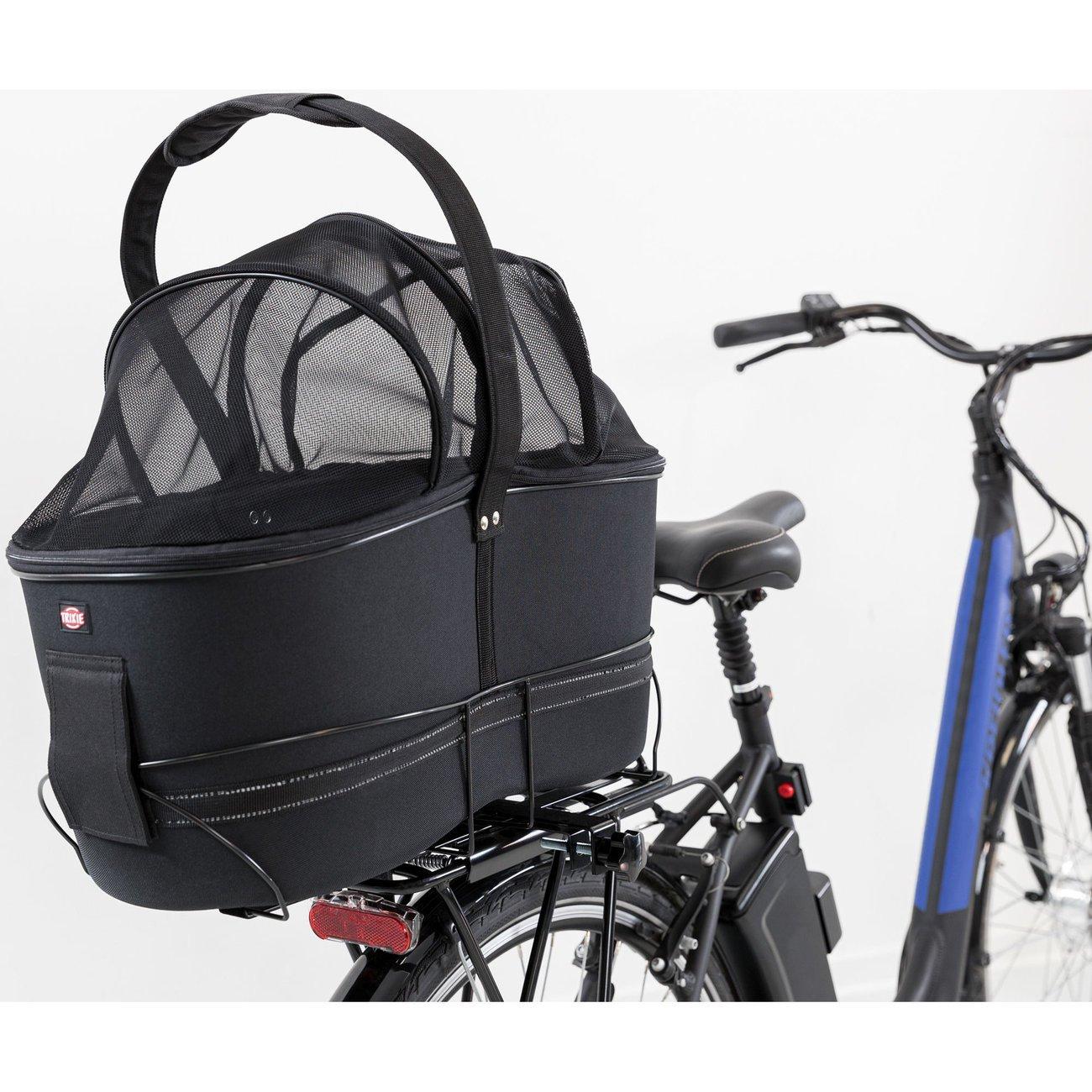TRIXIE Hunde Fahrradkorb Long für breite Gepäckträger 13110, Bild 4