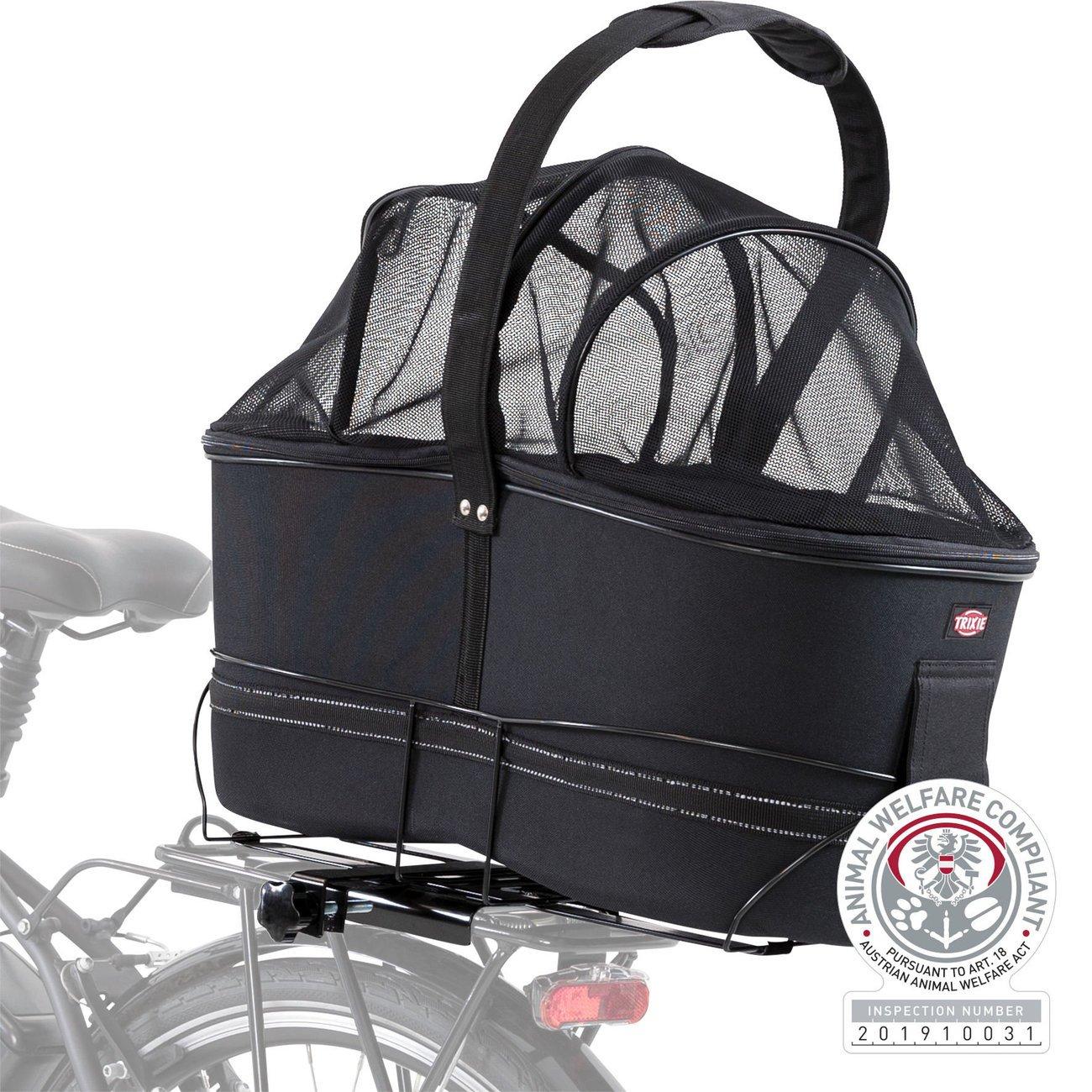 TRIXIE Hunde Fahrradkorb Long für breite Gepäckträger 13110, Bild 19