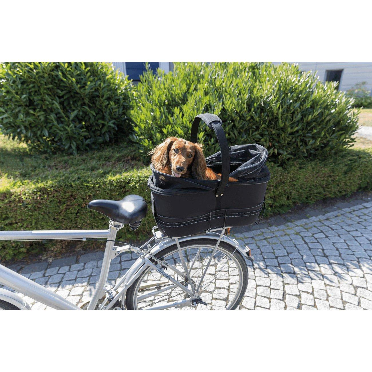 TRIXIE Hunde Fahrradkorb Long für breite Gepäckträger 13110, Bild 20