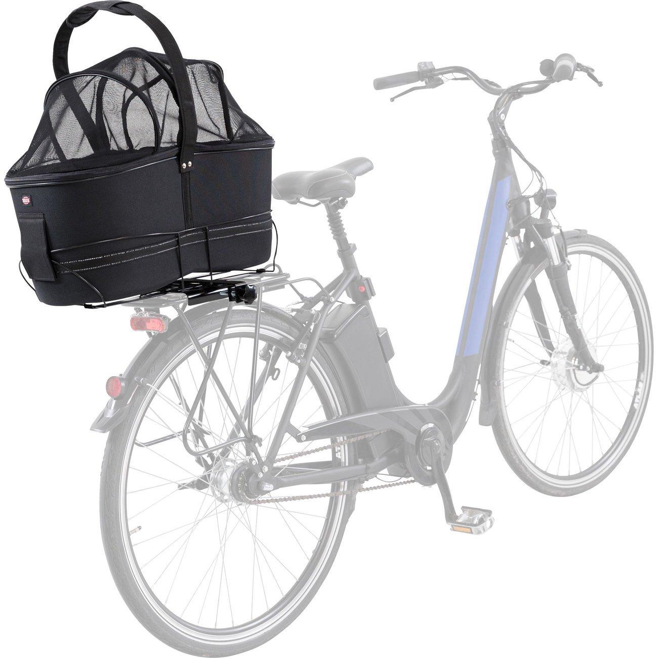 TRIXIE Hunde Fahrradkorb Long für breite Gepäckträger 13110, Bild 5