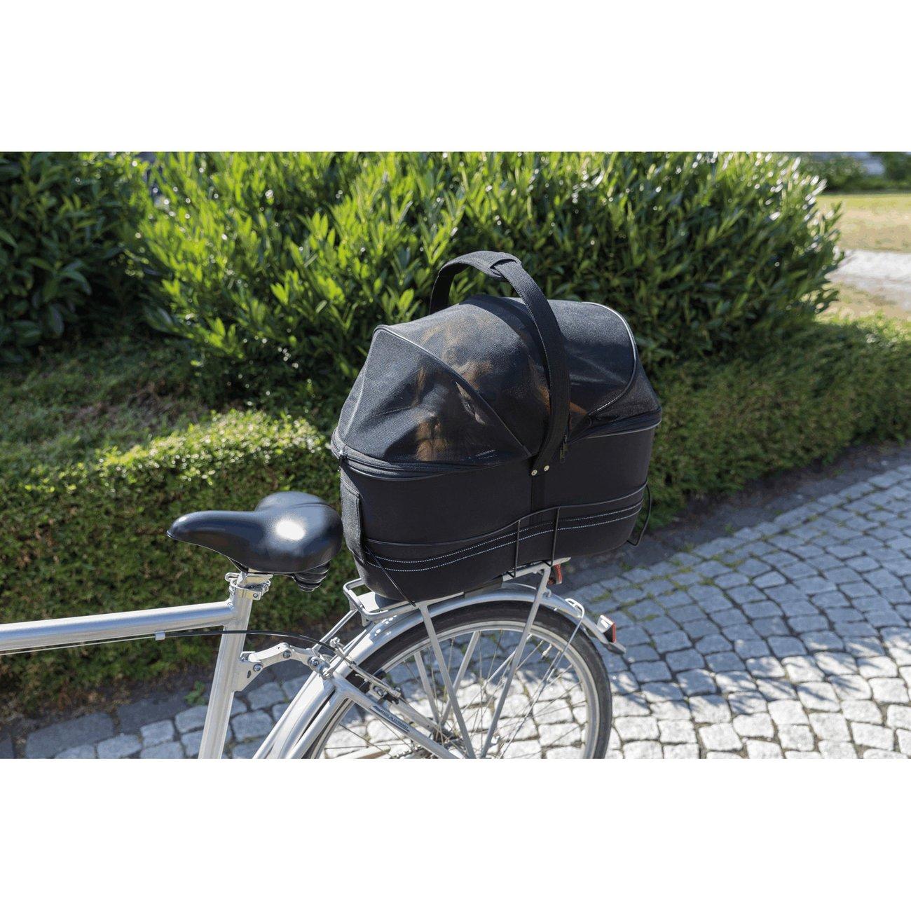 TRIXIE Hunde Fahrradkorb Long für breite Gepäckträger 13110, Bild 6