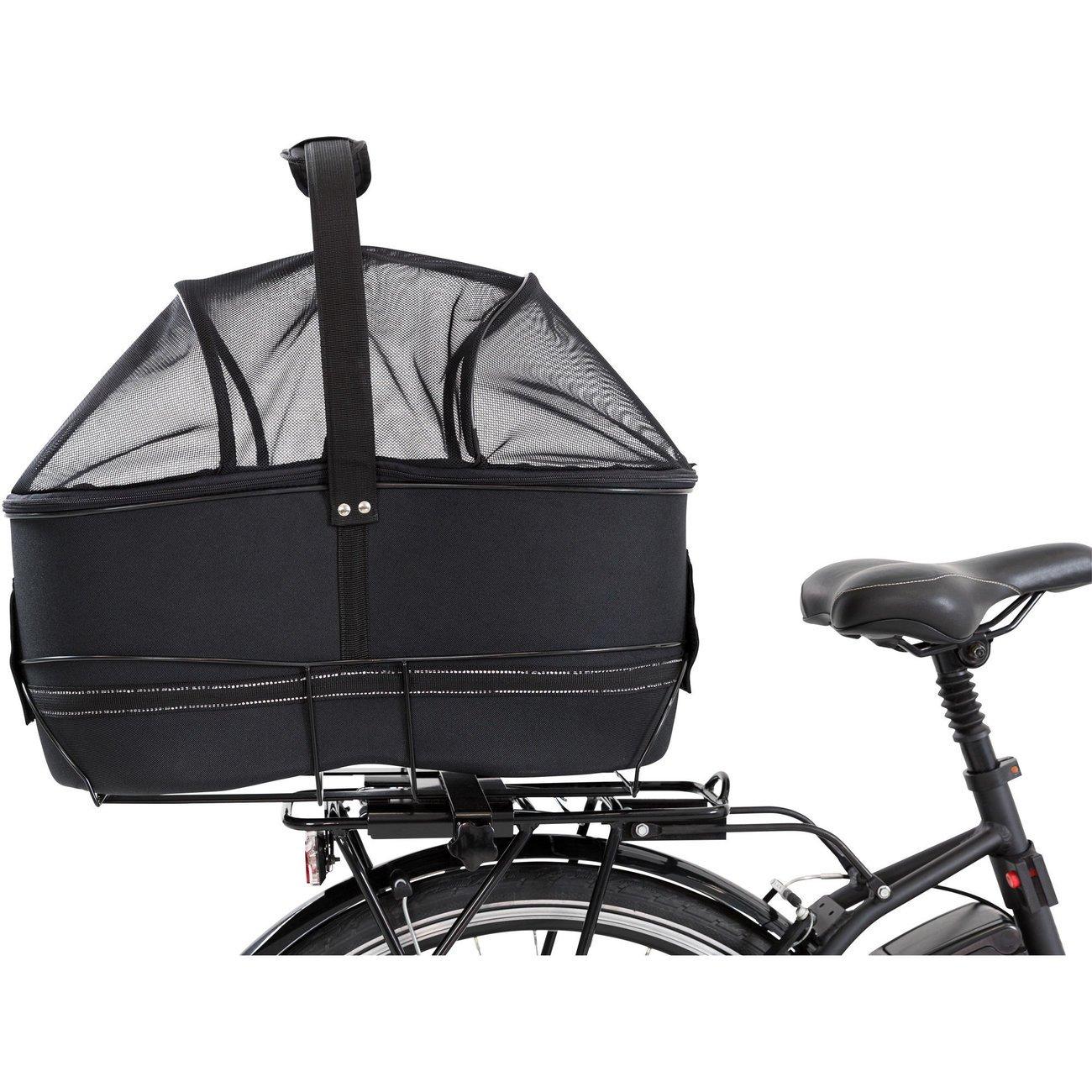 TRIXIE Hunde Fahrradkorb Long für breite Gepäckträger 13110, Bild 7