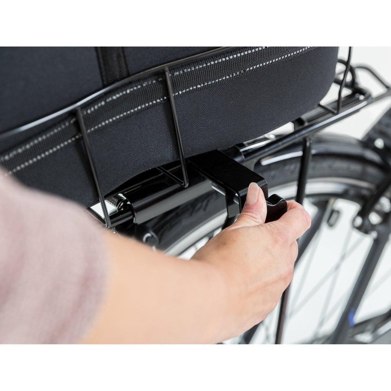 TRIXIE Hunde Fahrradkorb Long für breite Gepäckträger 13110, Bild 22