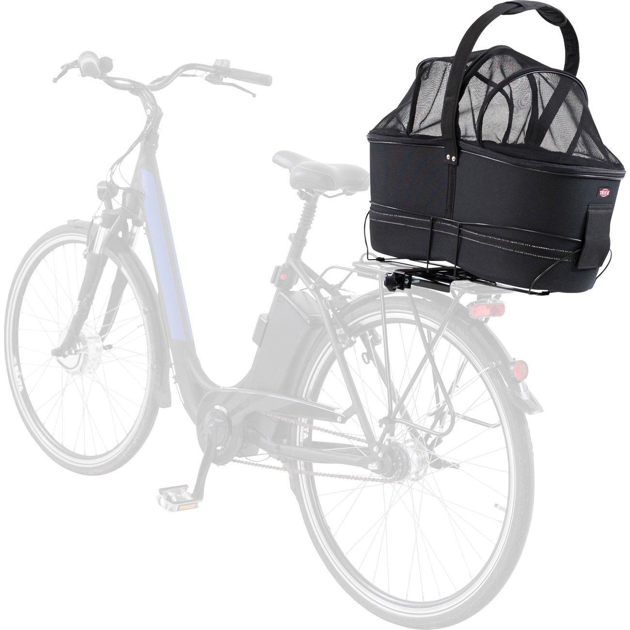 TRIXIE Hunde Fahrradkorb Long für breite Gepäckträger 13110, Bild 23