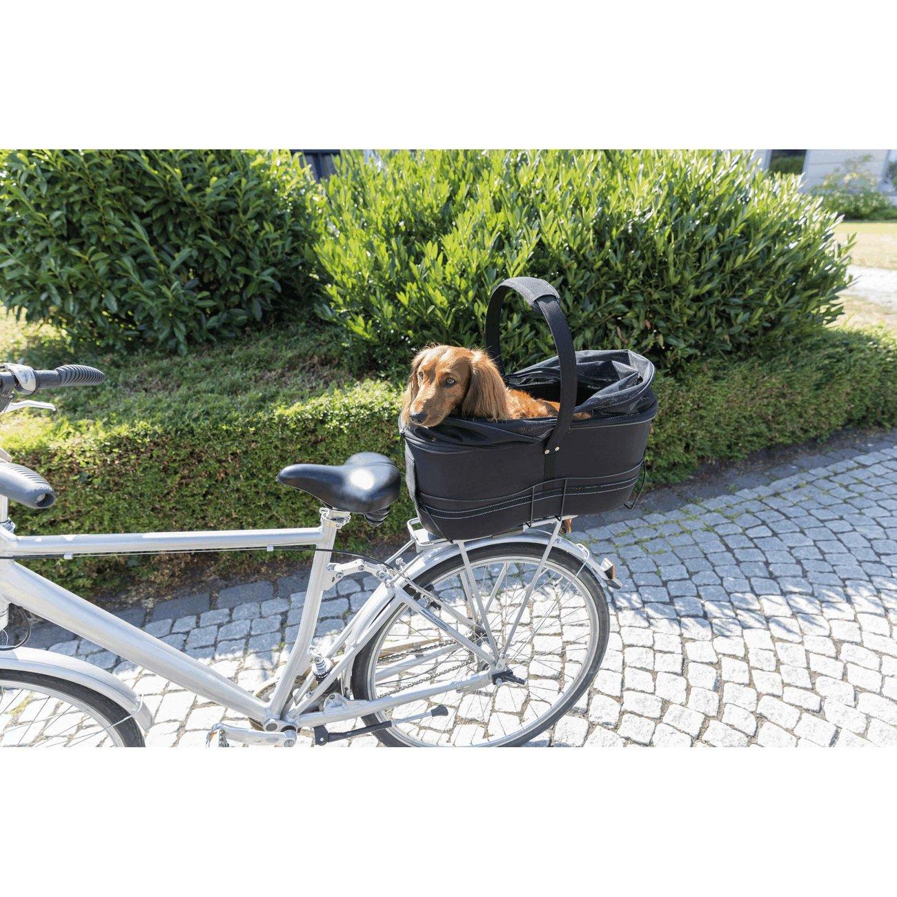 TRIXIE Hunde Fahrradkorb Long für breite Gepäckträger 13110, Bild 27