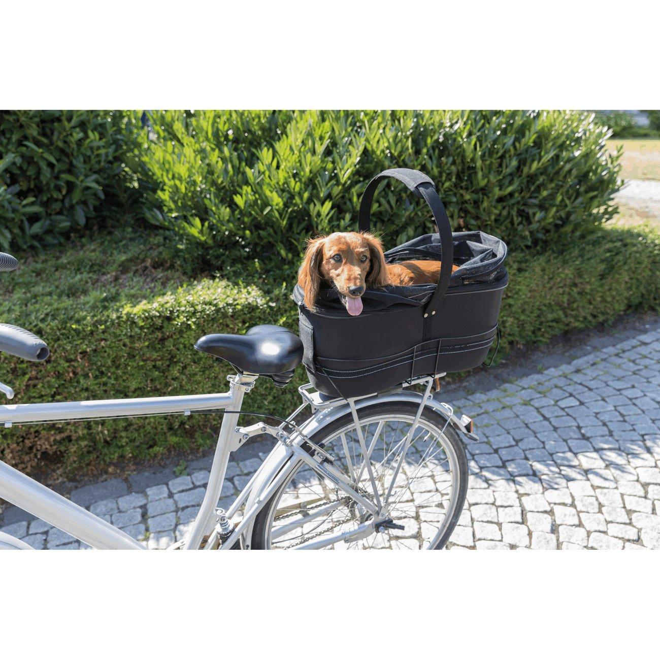 TRIXIE Hunde Fahrradkorb Long für breite Gepäckträger Preview Image
