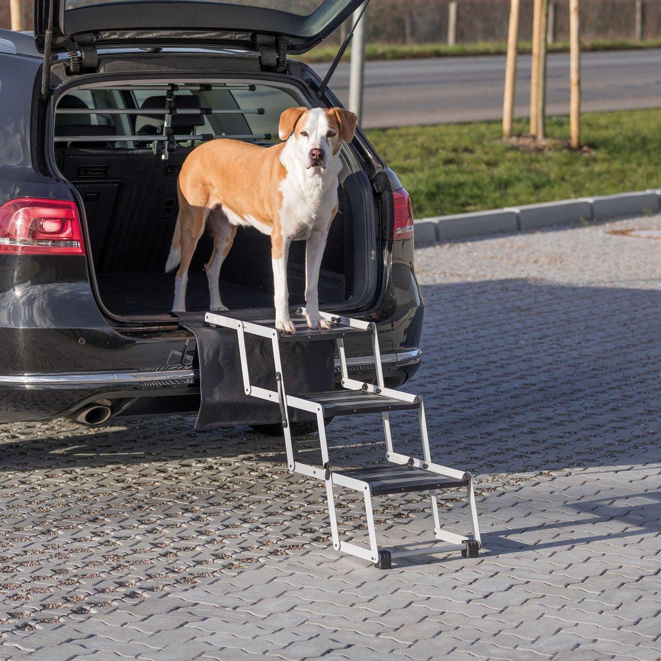 Trixie Hunde Falt-Treppe Petwalk aus Aluminium 39376