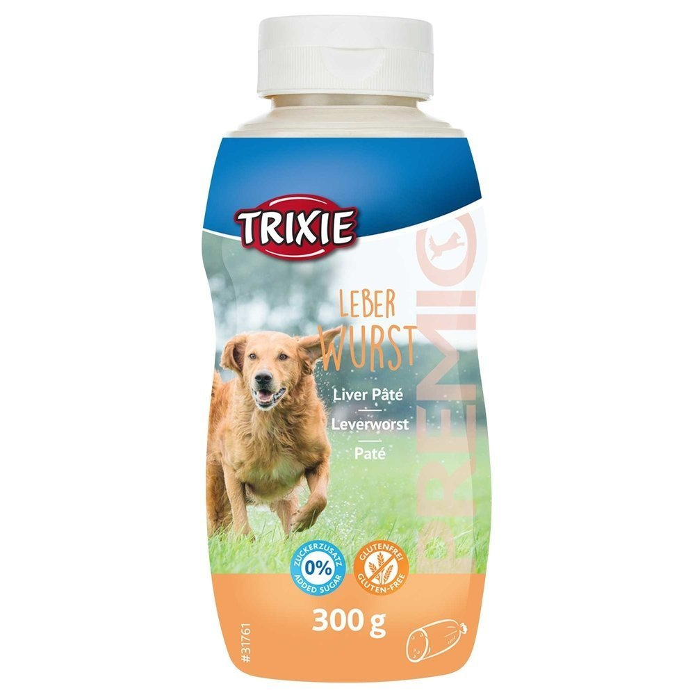 Trixie Hunde Leberwurst aus der Tube, 300 g